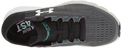 Under Running Gray Women's Black Speedform Armour Velociti Shoes Rhino pwpqRTrc