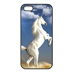 Custom Horse Design Rubber TPU Case for Iphone 5 5S