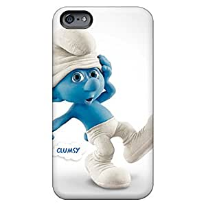 Hot Style mobile phone carrying skins High Quality Iphone case Shock-dirt iphone 5s for you - clumsy smurf