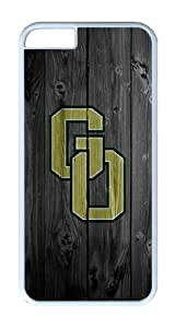 iPhone 6 Case, iPhone 6 Cover - Wood Glenoak Go Logo Scratch Protection Snap-on White Plastic Back Cover Case for iPhone 6 4.7 inch