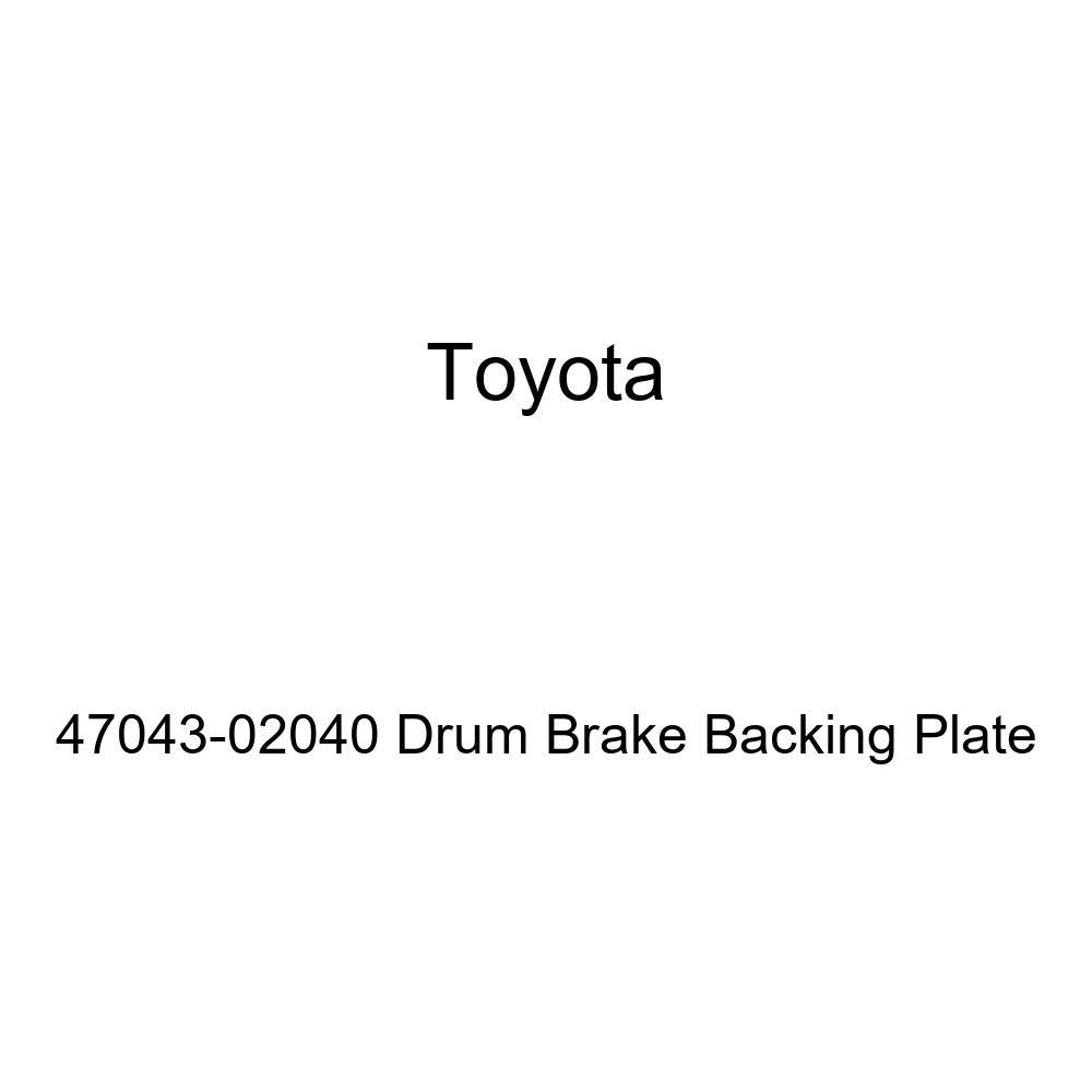 Toyota 47043-02040 Drum Brake Backing Plate