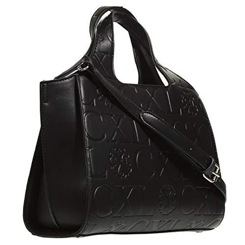 (CXL by Christian Lacroix Embossed Mini Hobo bag, Handbags for Women)