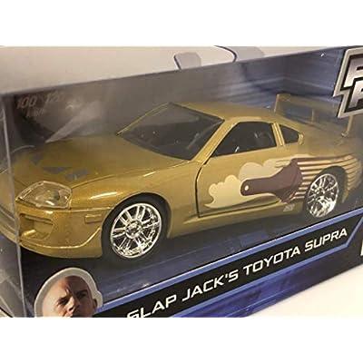 Slap Jack's Toyota Supra Gold Fast & Furious Movie 1/32 Diecast Model Car by Jada 99542: Toys & Games