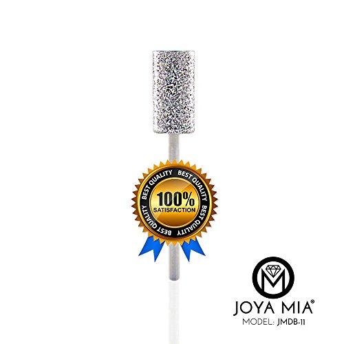 JOYA MIA 100% Natural Diamond Nail Drill Bits Long Lasting Rust Free MADE IN THE USA (JMDB-11)