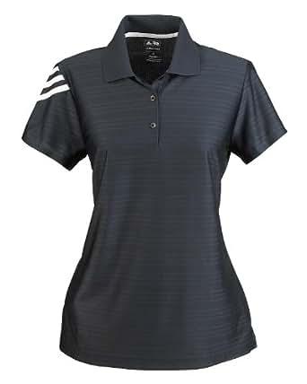 adidas A131 Ladies ClimaLite Basic Polo - Black, Small