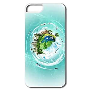 Funny Planet Earth Fantasy IPhone 5/5s Case For Birthday Gift