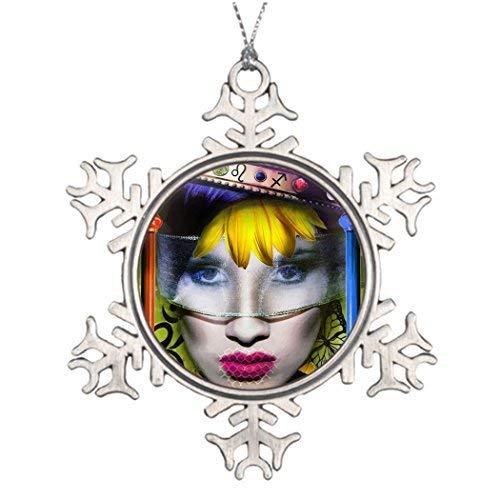 Acove Xmas Trees Decorated Spiritual Wands Decorating Christmas Tree Ideas Christmas Snowflake Ornaments 3 inch