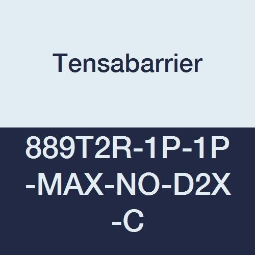 Tensabarrier 889T2R-1P-1P-MAX-NO-D2X-C Post, 2