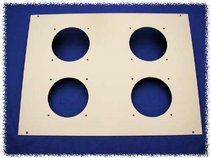 Hammond Manufacturing C2T1923F10BK1 10 FAN 19 X 23 FAN TOP B