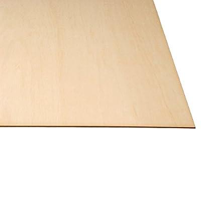 LASERWOOD Baltic Birch Plywood 1/8 x 24 x 36 by Woodnshop