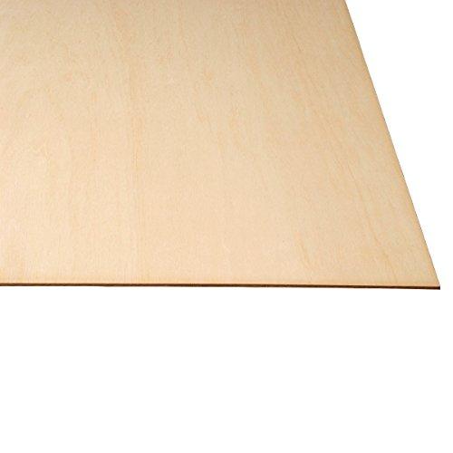 LASERWOOD Baltic Birch Plywood 1/8 x 24 x 36 PKG 25 by WOODNSHOP