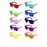 GloFX Color Therapy Glasses 10-Pack Chakra Glasses Chromatherapy Glasses Light Therapy
