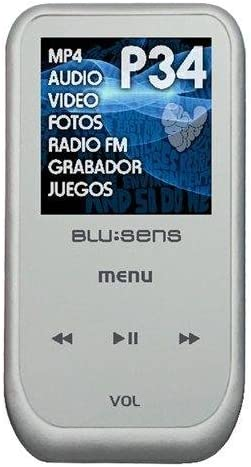 Blusens P 34 - Reproductor MP4 8192 MB Plata: Amazon.es: Electrónica