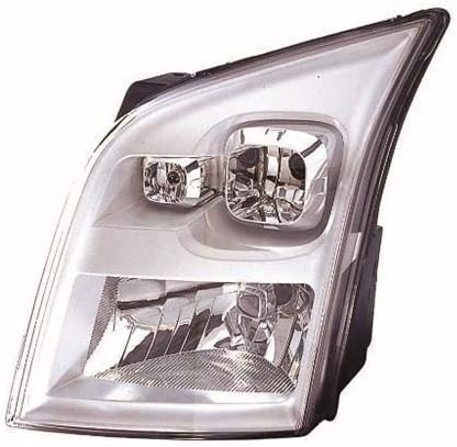 Headlight Headlamp No Motor Passenger Side Compatible With Transit Mk7 2006-2014 (Trade Vehicle Parts FD8015)