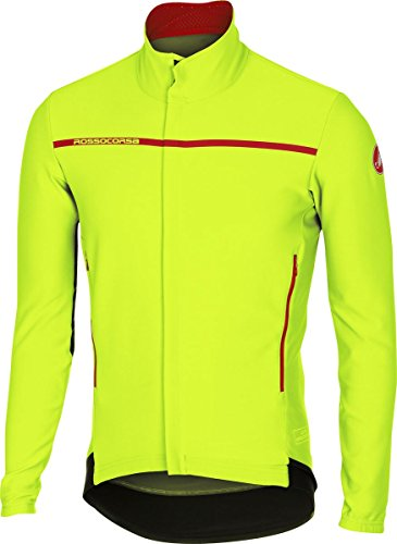 Castelli Perfetto Long-Sleeve Jersey - Men s Yellow Fluo 699d7bc9d