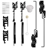 Sunroof Track Assembly Repair Kit Fit for F250 F350 F450 2005-2016, for Ford F150 2000-2014, for Ford Expedition 2000-2017,for Lincoln Navigator 2000-2017,for Lincoln Mark LT 2006-2008