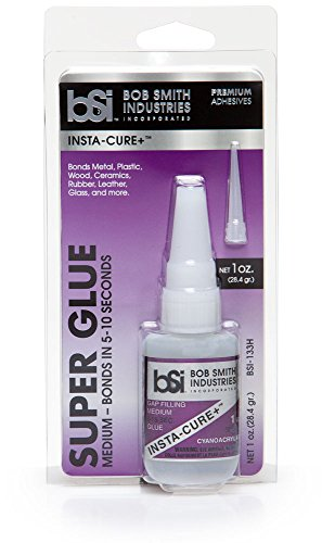 Bob Smith Industries BSI-133H Insta-Cure+ Gap Filling Super Glue, 1 oz. (Permanent Crown Cement)