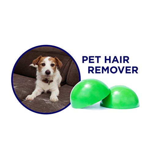 LCP_Home Pet Hair Remover, Hair Catcher for Laundry,Pet Hair Cleaner - Reusable Two Pack Traps Stubborn Dog-Cat Fur and Pet Dander-Removes lint from Clothing- Furniture-Bedding-car Seats and More