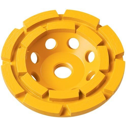 (DEWALT DW4777 5-Inch XP Double Row Diamond Cup Wheel)