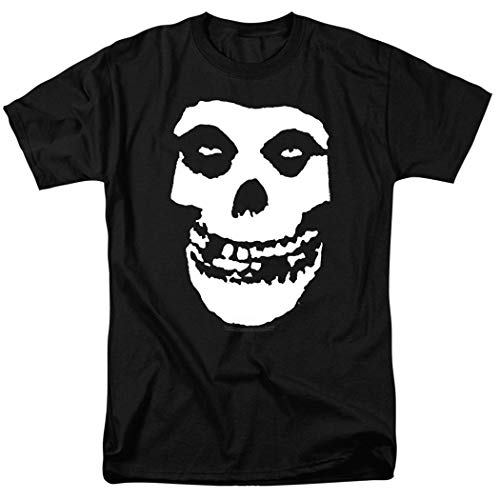Misfits Fiend Skull Logo T Shirt and Exclusive Stickers ()