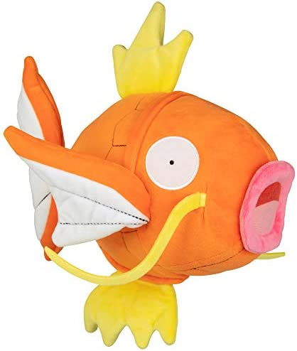 Pokemon Pokémon Flopping Magikarp Plush - 10 Inch Interactive Fish Toy Flops, Wiggles and Shakes - Age 4+