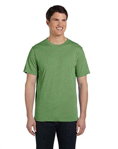 Bella Herren Asymmetrischer T-Shirt Gr. Small, Grau - GREY TRIBLEND