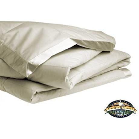 Pacific Coast Feather Twin Down Blanket Cream By Pacific Coast