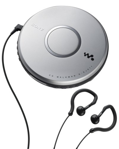 Sony DEJ011 Portable Walkman CD Player (Discontinued by Manufacturer) by Sony