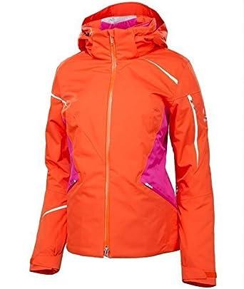 Großhändler 614be f7399 Spyder Damen Skijacke Jacke Pandora Rot Gr. 38 #017: Amazon ...