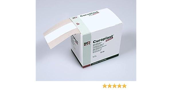 curafix 30618 tiritas verbände, Cura plast, Sensitive, 8 cm x 5 m: Amazon.es: Industria, empresas y ciencia