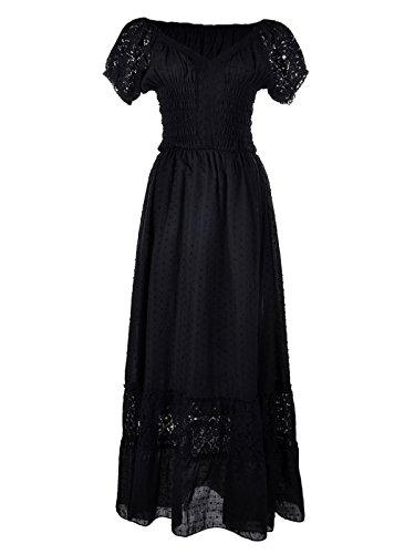 Anna- (Black Renaissance Dress)