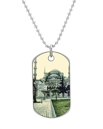 - Turkey Sultan Ahmed Mosque Personalized Pet ID Dog Tags Key Chain