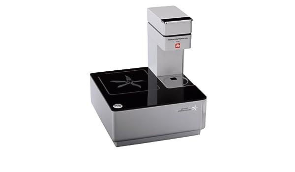 Illy Francis Francis Y1 - Cafetera (Independiente, Negro, Plata, Espresso machine, Cápsulas, Café expreso, Totalmente automática): Amazon.es: Hogar