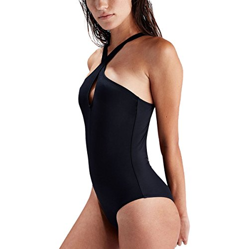 Solid & Striped Emmy One-Piece Swimsuit - Women's Black, M by Solid & Striped