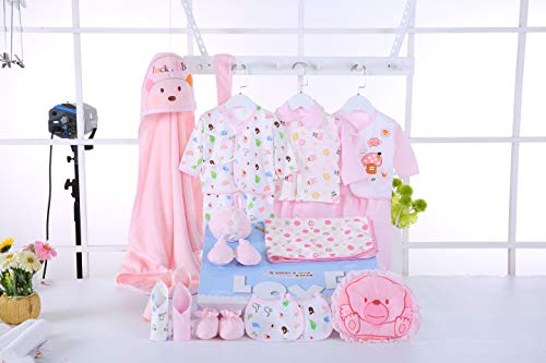 New Born 21 Pieces for Baby Gift Set Girl All Essentials Everything in one So Cute Comfy and Cozy Outfits Sets