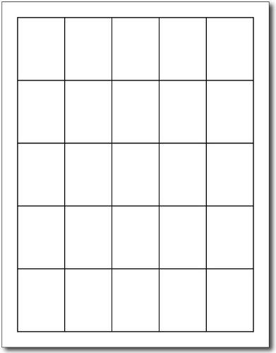 Blank White 1 1/2