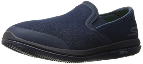 Skechers Performance Men's Go Flex-Executive Walking Shoe,Navy,12 M US - Executive Center