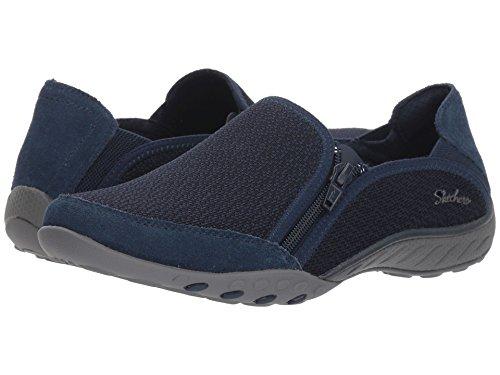 顔料解決デモンストレーション[SKECHERS(スケッチャーズ)] レディーススニーカー?ウォーキングシューズ?靴 Breathe-Easy - Quiet-Tude