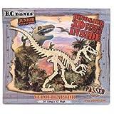 a b c d puzzle - 3D Wood JR Velociraptor Puzzle