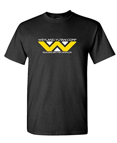 WEYLAND YUTANI - 80's retro horror movie Tee Shirt T-Shirt, 3XL, Black