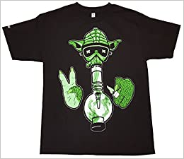 Icecream Cartel - Mens Star Wars Yoda Pot Weed Stoner ...