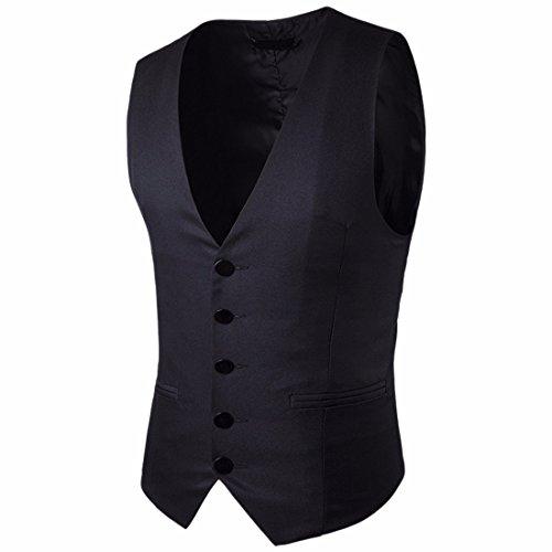 Noir M13 Texture Robe Costume Fit z Slim Skinny Hommes Qiyun Blazers Gilet w0XBqRnPxv