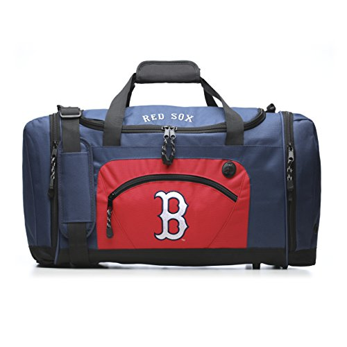 (The Northwest Company MLB Boston Red Sox Roadblock Duffle Bag, Blue)