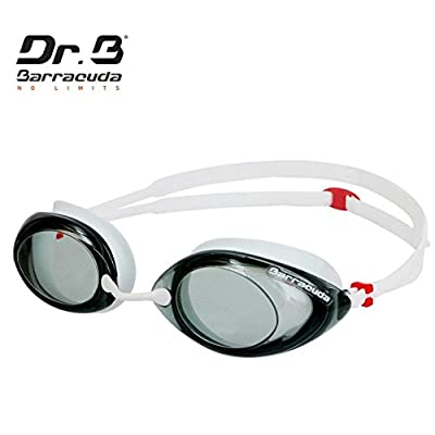 Barracuda Swimming professional Goggles & 3D Silicone Cap (Standard) Package