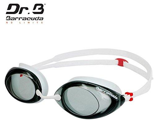 Barracuda Dr.B Optical Swim Goggle Corrective, Anti-fog UV Protection, Comfortable No leaking, Easy adjusting for Adults Women Ladies, incl. carry case #32295 White - Prescription Goggles Amazon Swim