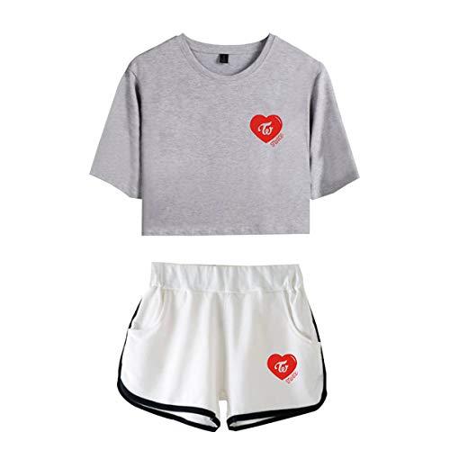 e Pantaloncini 04 e Twice Dolce Shirt T Donna e XXS Comfort XXXL CTOOO Svago Fresco xn10Iq6