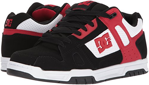 Shoes Noir Stag Homme Up Lace Blanc Rouge Dc 7q1Od1