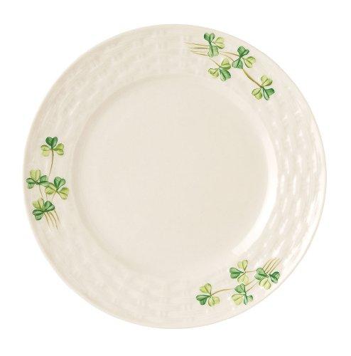 (Belleek Group 0005 Shamrock Side Plate, 7.5-Inch, White)