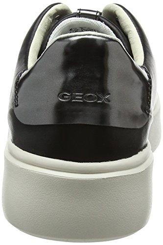 Nhenbus Negro Geox Zapatillas para a Mujer D Black Ov1nOB
