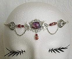 Dragons Breath Fire Opal Circlet handmad...